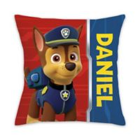 PAW Patrol Chase Square Throw Pillow in Red