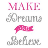 "WallPops!® ""Make Dreams and Believe"" Wall Decal"