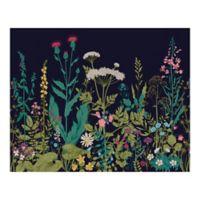 Botanical Fleur 9-Foot 10-Inch x 8-Foot 1-Inch Wall Mural