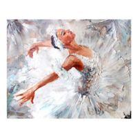 Ballerina 9-Foot 10-Inch x 8-Foot 1-Inch Wall Mural
