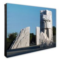 Photo File Martin Luther King Jr. Memorial 20-Inch x 24-Inch Photo Canvas Wall Art