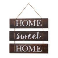 """Danya B. """"Home Sweet Home"""" Wooden Wall Art"""