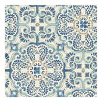 WallPops!® NuWallpaper™ Florentine Tile Peel & Stick Wallpaper in Blue