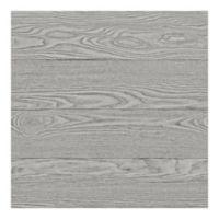 WallPops!® NuWallpaper™ Salvaged Wood Peel & Stick Wallpaper in Grey