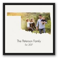 Designs Direct Oklahoma Family 20-Inch Square Framed Canvas Wall Art