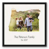 Designs Direct Oregon Family 20-Inch Square Framed Canvas Wall Art