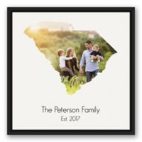 Designs Direct South Carolina Family 20-Inch Square Framed Canvas Wall Art