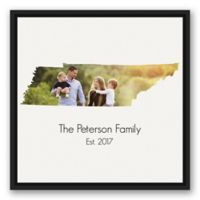 Designs Direct Tennessee Family 20-Inch Square Framed Canvas Wall Art
