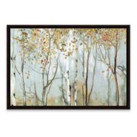 Birch in the Fog II 38-Inch x 26-Inch Framed Canvas Wall Art