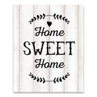 """""""Home Sweet Home"""" 16-Inch x 20-Inch Canvas Wall Art"""