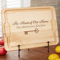 Key To Our Home XL 15-Inch x 21-Inch Cutting Board