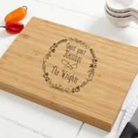 Count Your Blessings 10-Inch x 14-Inch Bamboo Cutting Board