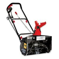 Snow Joe Ultra 18-Inch 13.5-Amp Electric Snow Thrower with Light in Red