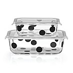 kate spade new york All in Good Taste™ Deco Dot 2-Piece Rectangular Food Storage Set