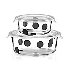 kate spade new york All in Good Taste™ Deco Dot 2-Piece Round Food Storage Set