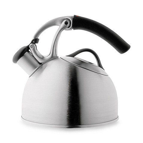 Oxo Good Grips Uplift Brushed Stainless Steel Tea Kettle Bed Bath Beyond