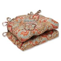 Pillow Perfect Madrid Chair Pads in Multi (Set of 2)