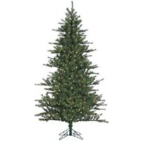 Fraser Hill Farm 9-Foot Southern Peace Pine Pre-Lit Artificial Christmas Tree with LED Clear Lights