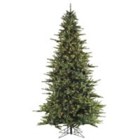 Fraser Hill Farm 10-Foot Southern Peace Pine Pre-Lit Artificial Christmas Tree with Clear Lights