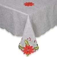 Joyful Christmas 60-Inch x 120-Inch Oblong Tablecloth
