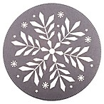 Snowflake Whipstitch Felt Placemat