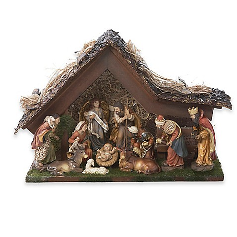 Kurt Adler Led Nativity Set Set Of 11 Bed Bath Beyond