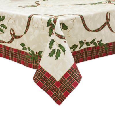 Lenox® Holiday Nouveau Melody 60 Inch X 84 Inch Oblong Tablecloth