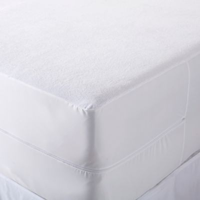 great bay home marta waterproof king mattress protector in white
