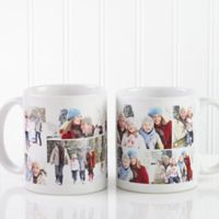 Create a Collage 11 oz. Coffee Mug in White