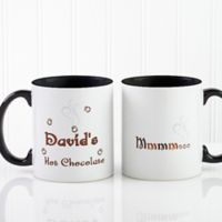 Mmmm...11 oz. Hot Cocoa Mug in Black