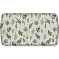 GelPro® Elite Winter Greens 20-Inch x 36-Inch Kitchen Mat in Grey