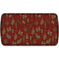 GelPro® Elite Winter Greens 20-Inch x 36-Inch Kitchen Mat in Currant