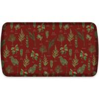 GelPro® Elite Winter Greens 20-Inch x 36-Inch Kitchen Mat in Currant