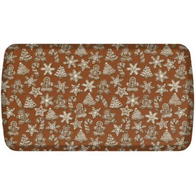 GelPro® Elite Gingerbread 20 Inch X 36 Inch Kitchen Mat In Cinnamon