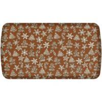 GelPro® Elite Gingerbread 20-Inch x 36-Inch Kitchen Mat in Cinnamon