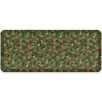 NewLife® by GelPro® Designer Comfort 20-Inch x 48-Inch Holly Sprig Mat in Red/Green