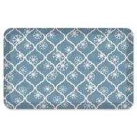 NewLife® by GelPro® Designer Comfort 20-Inch x 32-Inch Holiday Trellis Mat in Blue