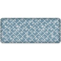 NewLife® by GelPro® Designer Comfort 20-Inch x 48-Inch Holiday Trellis Mat in Blue