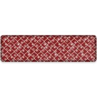 NewLife® by GelPro® Designer Comfort20-Inch x 72-Inch Holiday Trellis Mat in Red