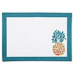 Pina Colada Canvas Placemat in Turquoise