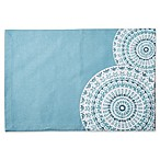 Medallion Canvas Placemat in Blue