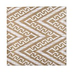Chevron Canvas Placemat in Taupe