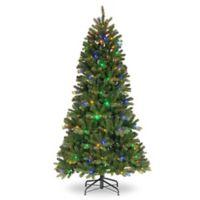 National Tree Company® 7-Foot Newberry™ Slim Spruce Pre-Lit Artificial Christmas Tree
