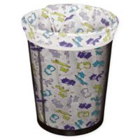 Planet Wise Small Reusable Trash Liner in White/Purple