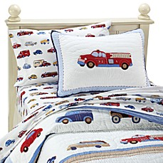 Whistle & Wink™ Cars and Trucks Quilt and Accessories