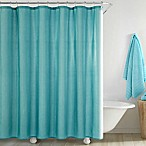 Jana Shower Curtain in Aqua