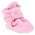 Capelli New York Size 3-6M Fleece Slipper in Pink