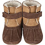 Robeez® Soft Soles™ Size 6-12M Galway Cozy Bootie in Brown