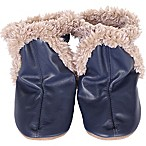 Robeez® Soft Soles™ Size 0-6M Classic Bootie in Navy