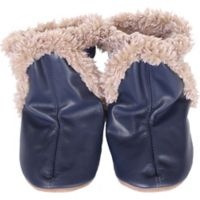 Robeez® Soft Soles™ Size 12-18M Classic Bootie in Navy